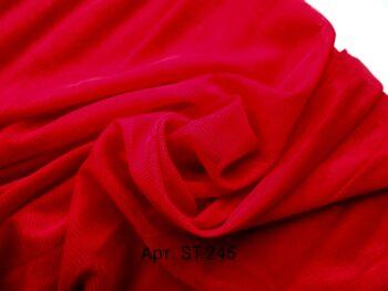Стрейч фатин Красный