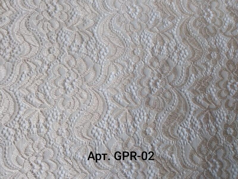 Гипюр Античный Молочный (GPR-02)