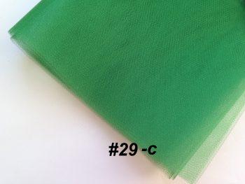 Фатин средней жесткости Kristal Tul, Турция, ширина 3 метра, Зеленый