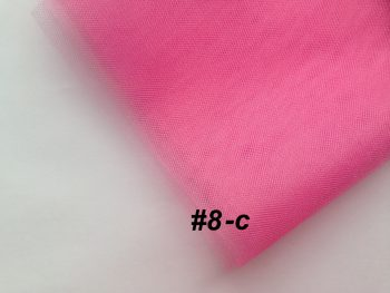 Фатин средней жесткости Kristal Tul, Турция, ширина 3 метра, Розовый