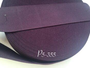 Резинка для пояса 5 см фиолетовая