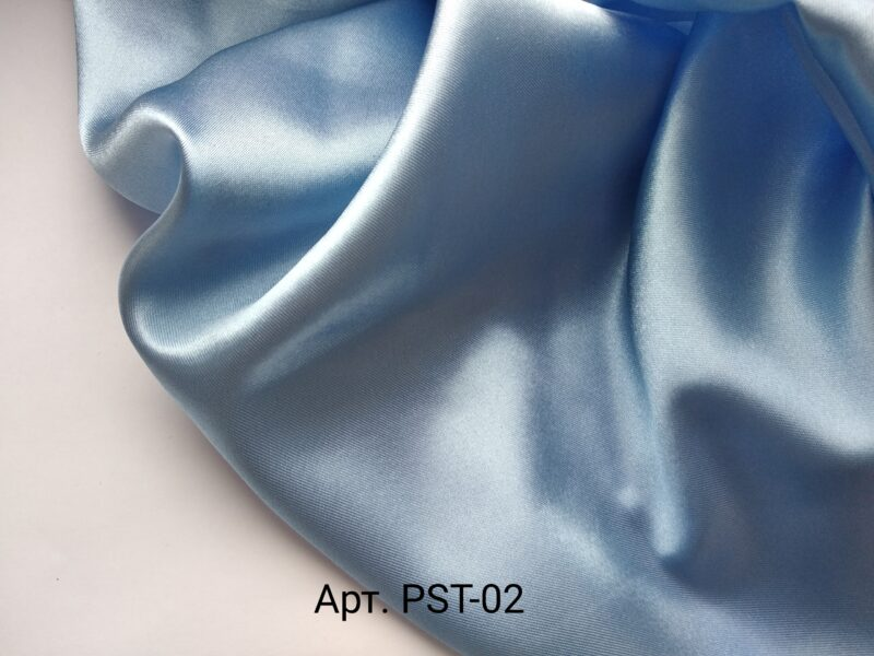 Атлас бледно-голубой