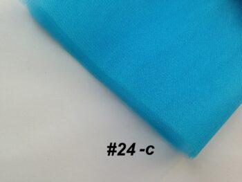 Фатин средней жесткости голубой