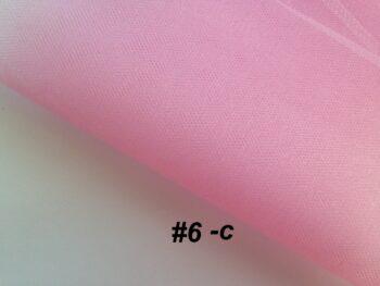 Фатин средней жесткости розовый