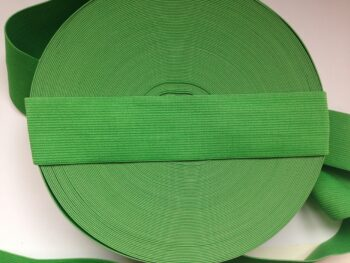 Резинка для пояса 4 см лайм