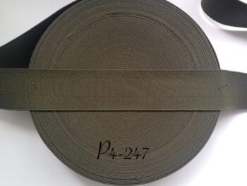 Резинка для пояса 4 см хаки