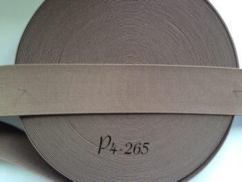 Резинка для пояса 4 см дымчатая