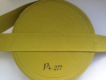 Резинка для пояса 4 см оливковая