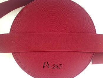 Резинка для пояса 4 см красная