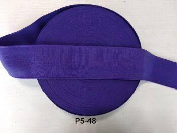 Резинка ярко фиолетовая широкая на пояс